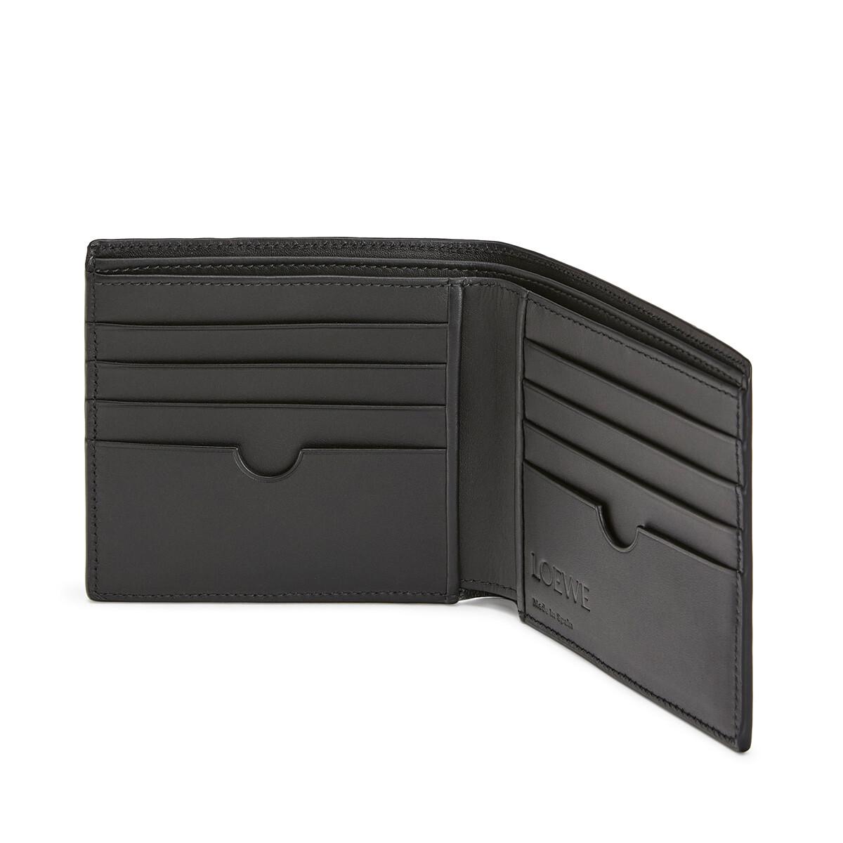 LOEWE Puzzle Bifold Wallet Deep Blue/Green front