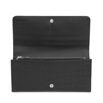 LOEWE Continental Wallet 黑色 front