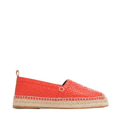 LOEWE Espadrille Repeat Red front