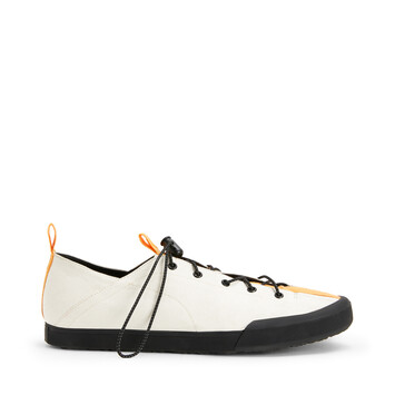 LOEWE Paula Sneakers Soft White/Orange front