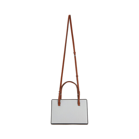 LOEWE Postal Bag Kaolin/Tan front