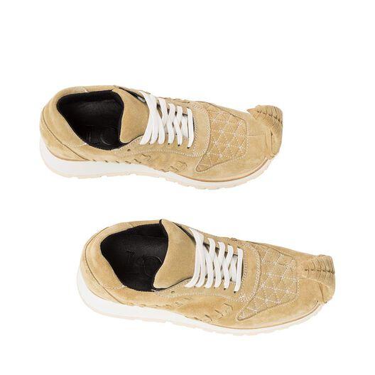 LOEWE Sneaker Dinosaur Gold all