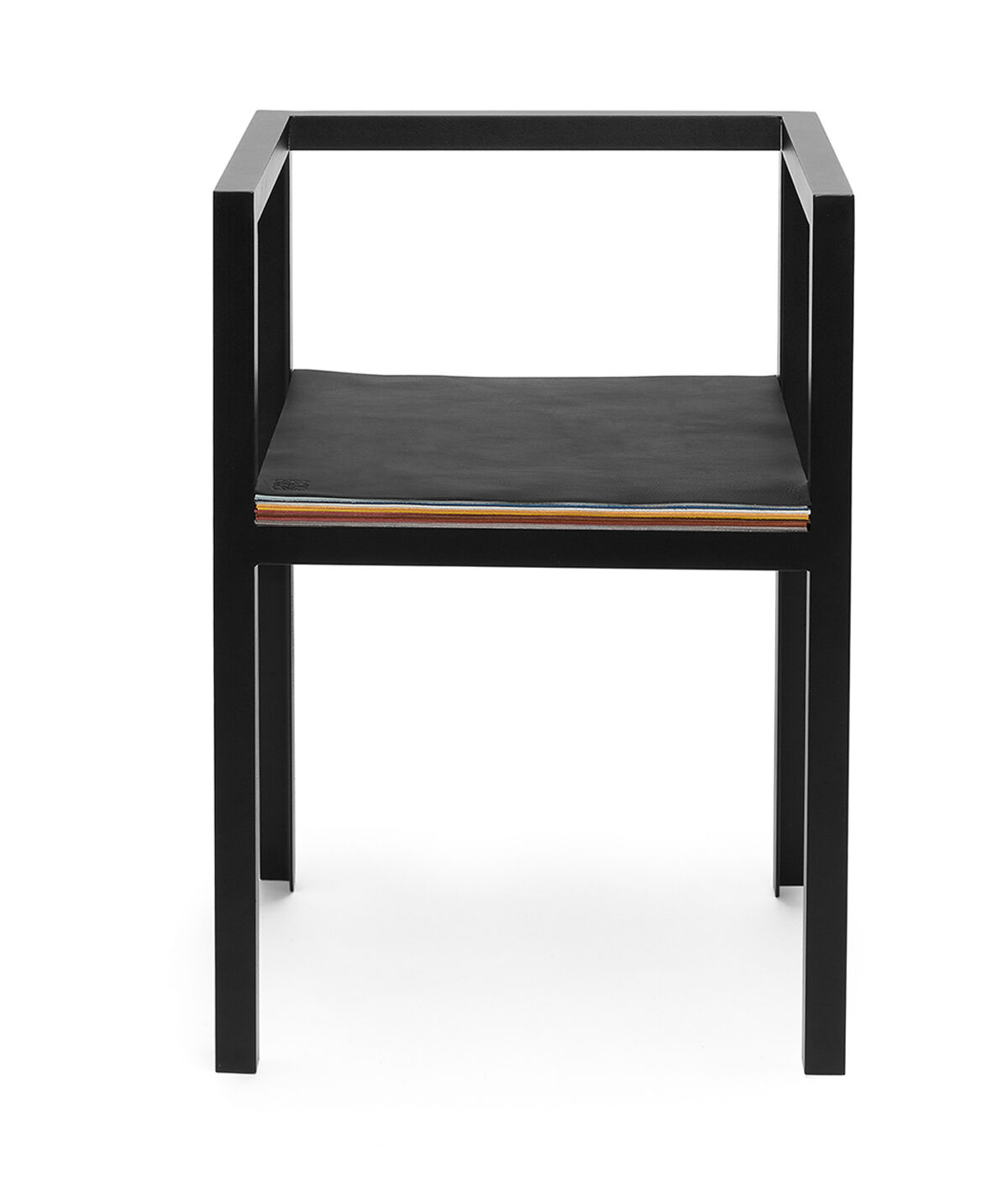 LOEWE Set Chair W/ Layers Of Leather 黑色/多色 all