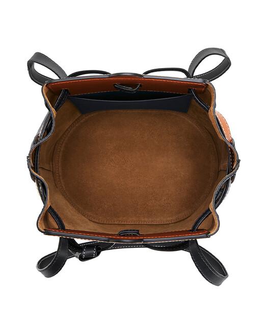 LOEWE Lazo Bucket Black front