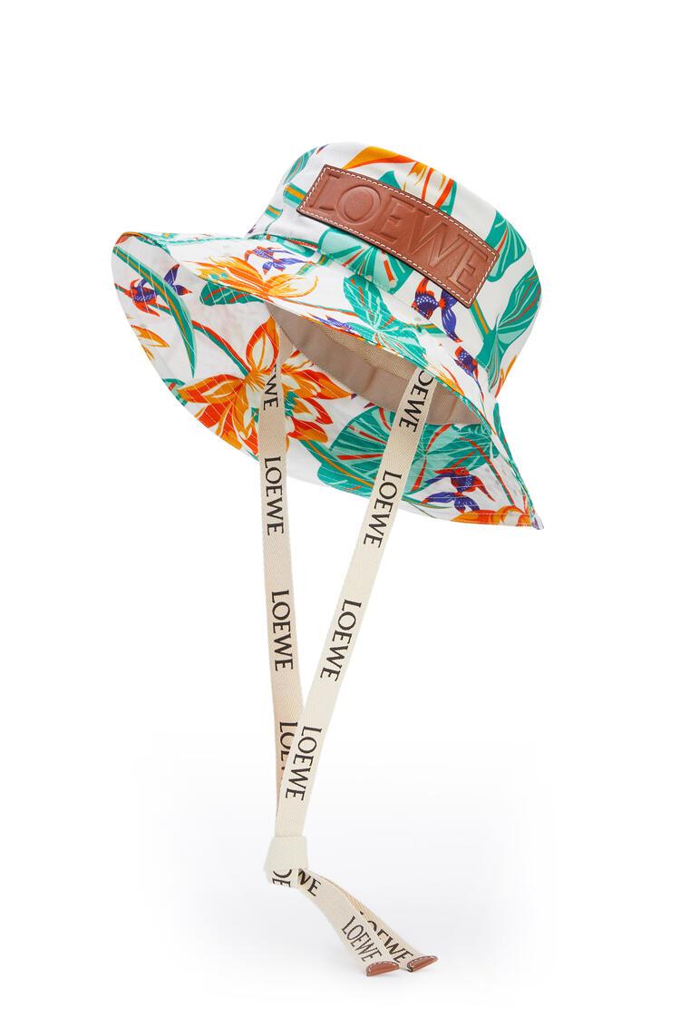 LOEWE Fisherman hat in printed canvas White pdp_rd