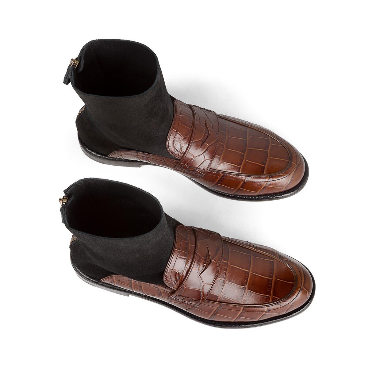 Sock Boot Loafer