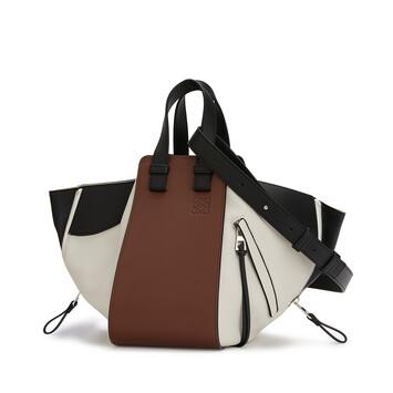 LOEWE Hammock Small Bag Black/Brunette front