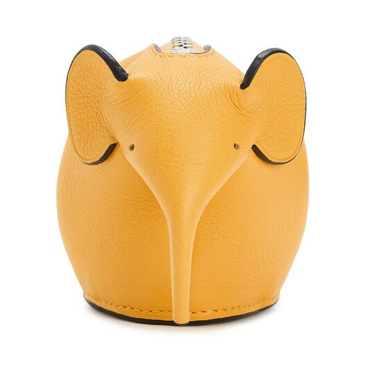 LOEWE Elephant Charm Yellow Mango front
