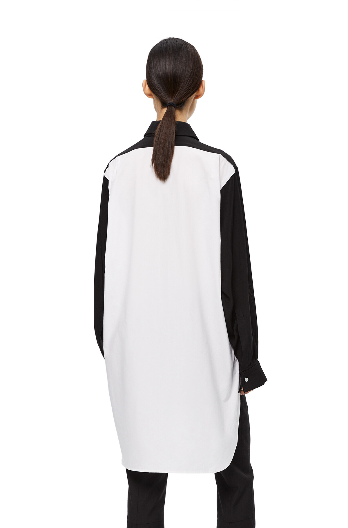 LOEWE Bicolor Shirt White/Black front
