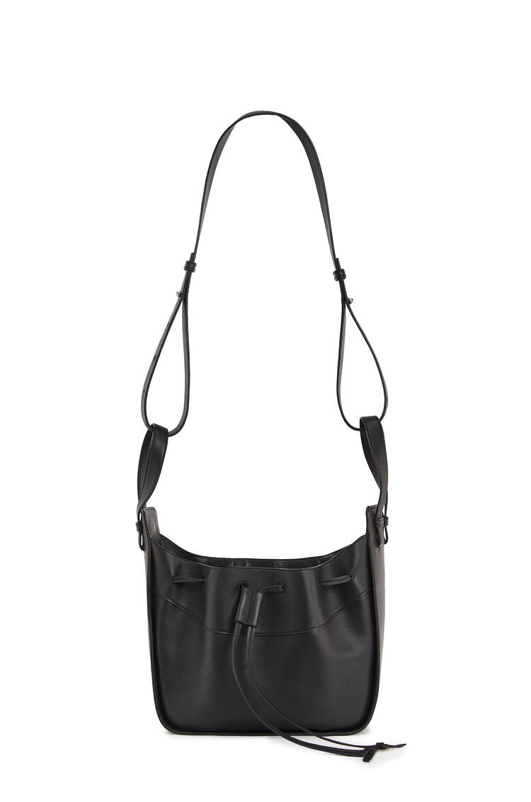 LOEWE Small Hammock Drawstring Bag In Nappa Calfskin Black pdp_rd