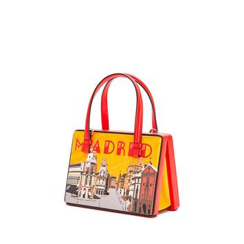 LOEWE Postal Madrid Small Bag Red front