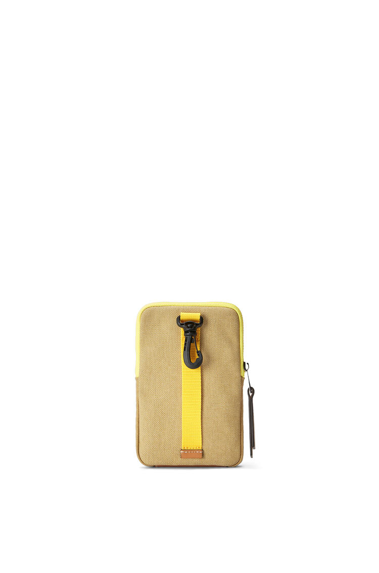 LOEWE Eye/LOEWE/Nature Case in canvas Gold pdp_rd
