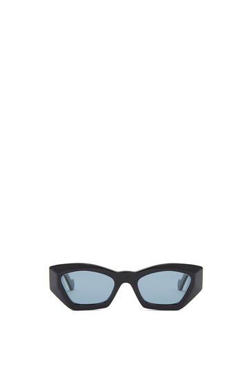 LOEWE GEOMETRIC CATEYE SUNGLASSES Black/Blue pdp_rd