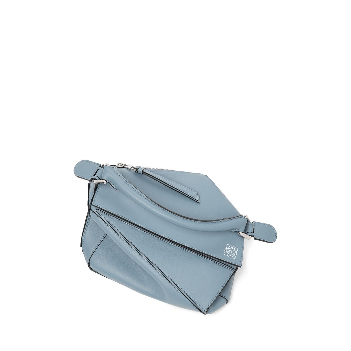 LOEWE Puzzle Small Bag 灰蓝色 all
