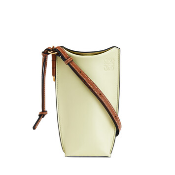 LOEWE Gate Pocket Pale Lime front