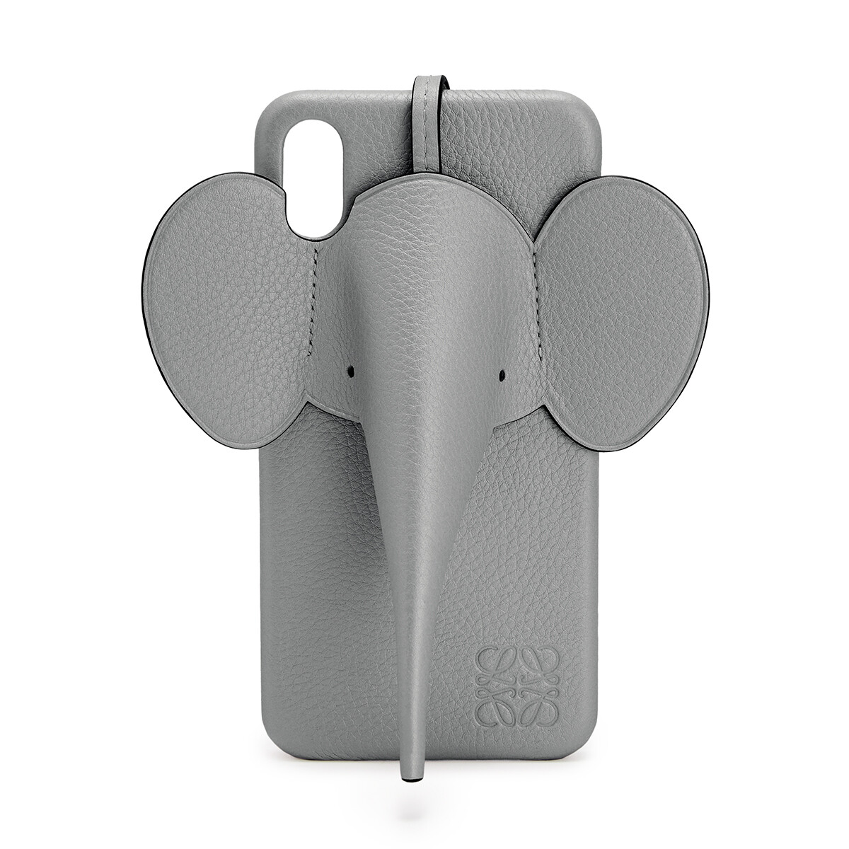 LOEWE Elephant Cover For Iphone Xs Max 鐵灰 front