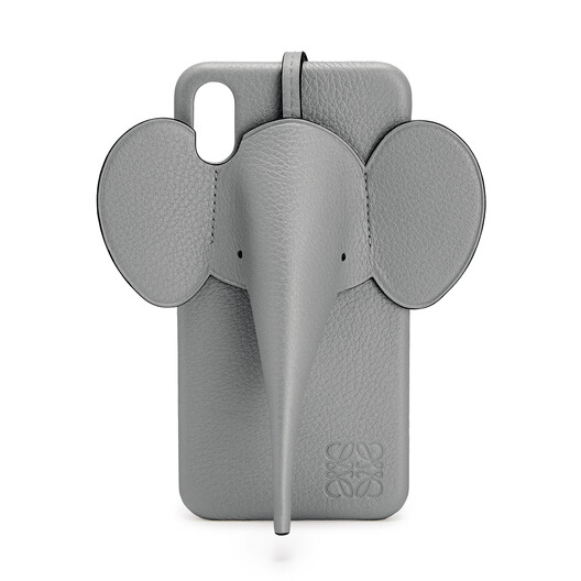 LOEWE Elephant Cover For Iphone Xs Max Gunmetal front