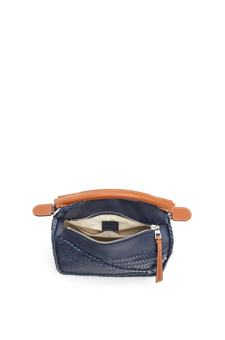 LOEWE Small Puzzle Bag In Buffalo And Calfskin 海軍藍 pdp_rd