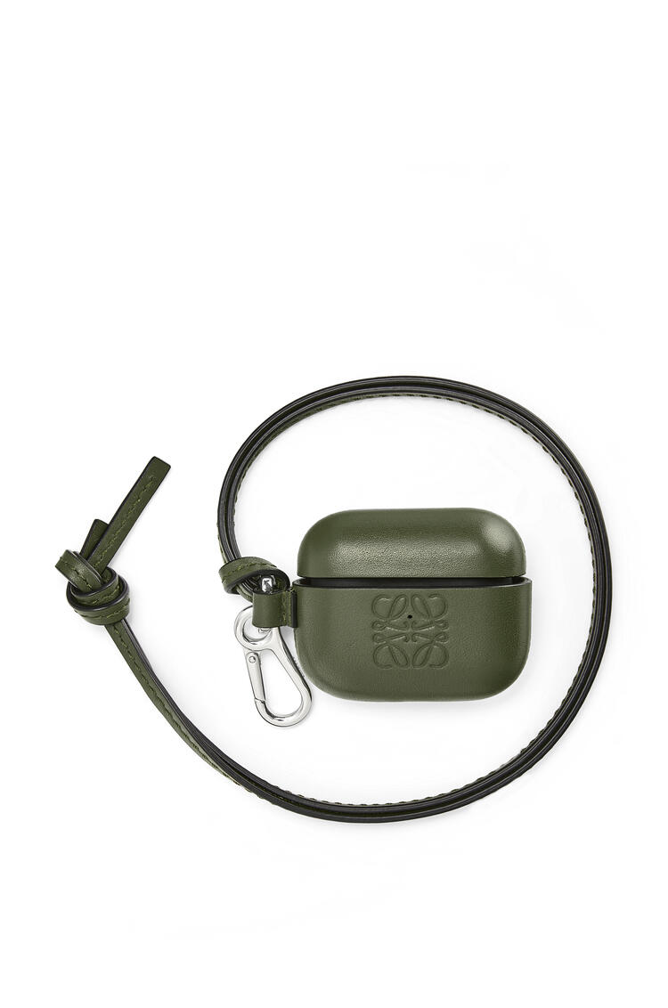 LOEWE AirPod Pro case in classic calfskin Military Green pdp_rd