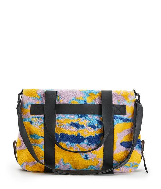 LOEWE Eye/Loewe/Nature Tote Camouflage Bag 多色拼接 front