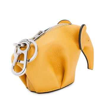 LOEWE Charm Elefante Amarillo Mango front