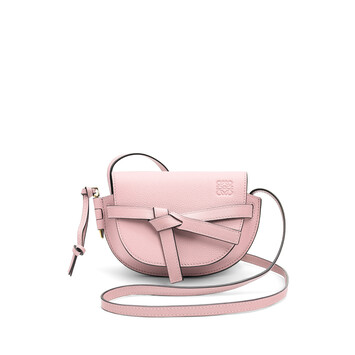 LOEWE Bolso Gate Mini Rosa Pastel front