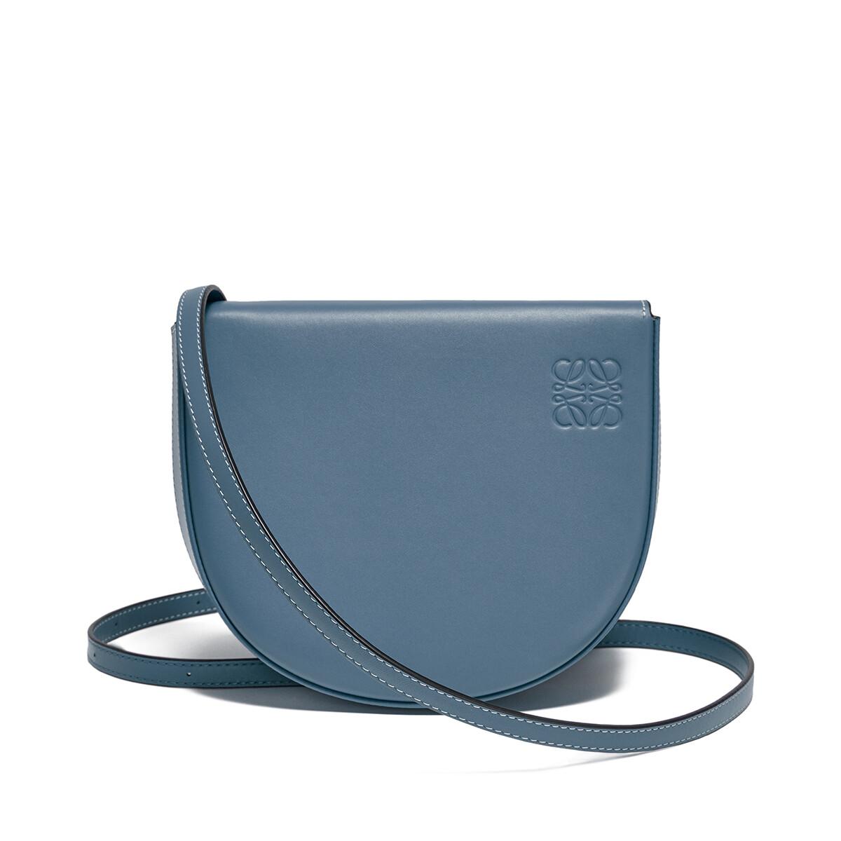 LOEWE Bolso Heel Mini Azul Acero front