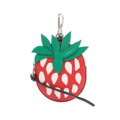 LOEWE Strawberry Charm Black/Red/Green front