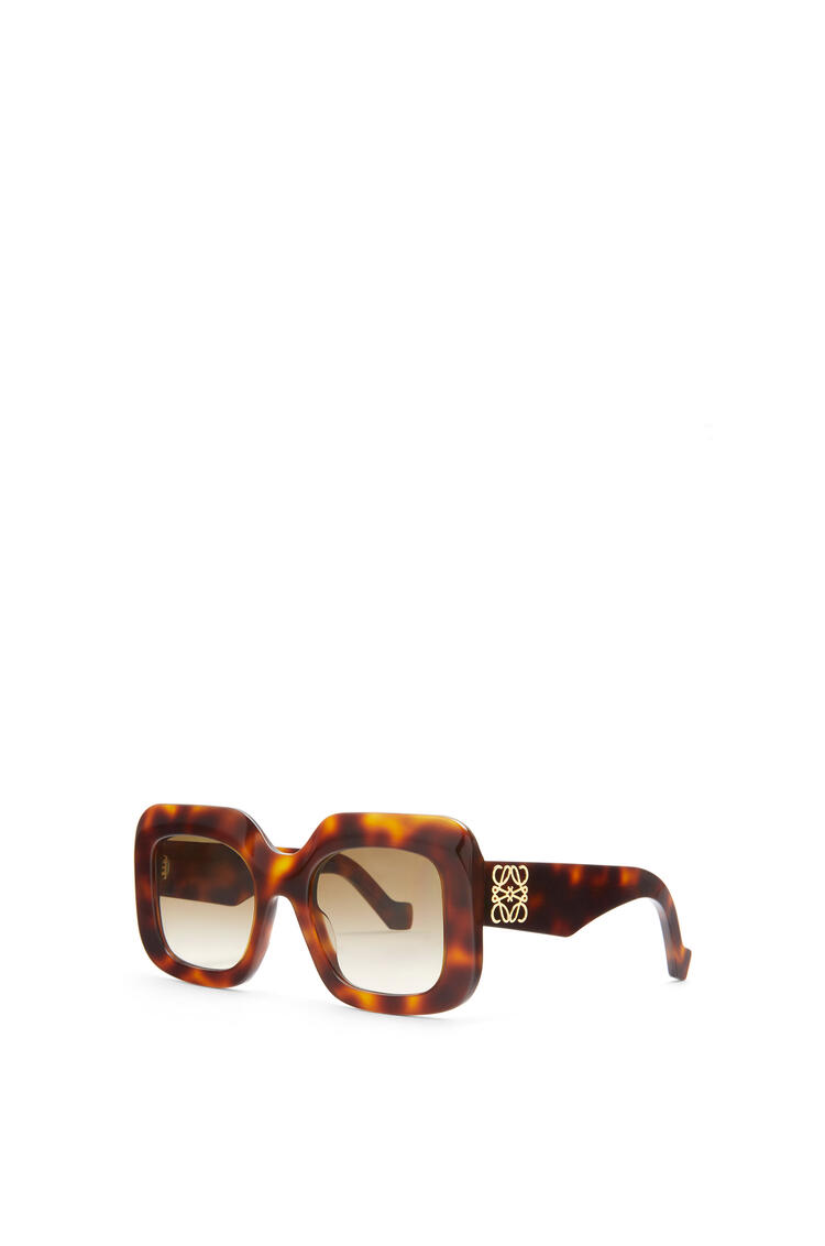 LOEWE Acetate Rectangular Sunglasses Havana pdp_rd