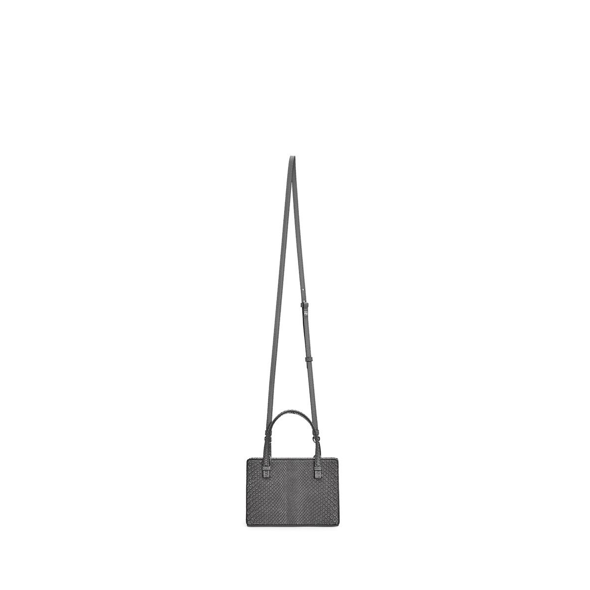 LOEWE Postal Small Bag Grey front