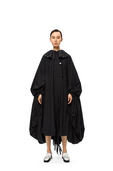 LOEWE Oversize coat dress Black pdp_rd