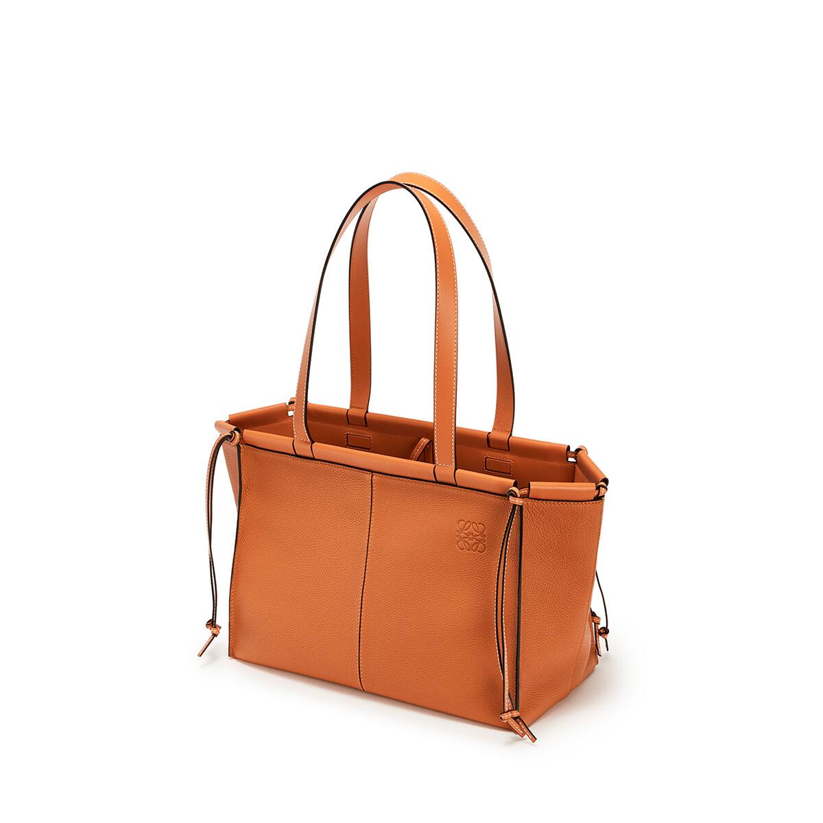 LOEWE Cushion Tote Small Light Caramel front