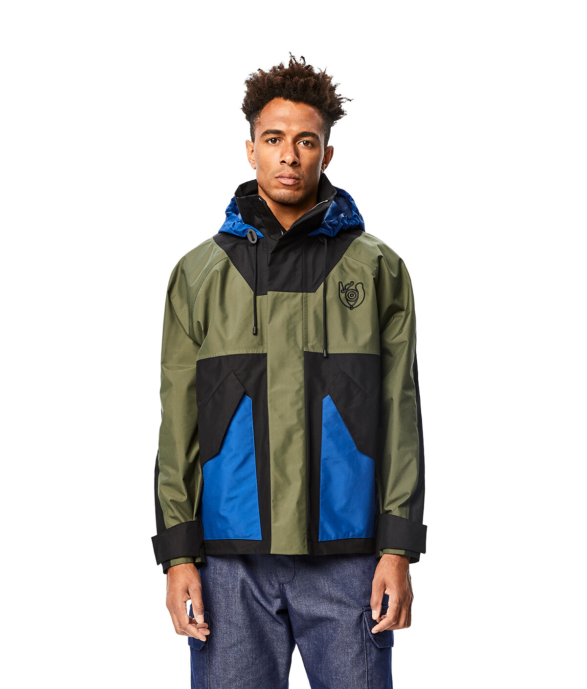 LOEWE Eln Parka Military Green front