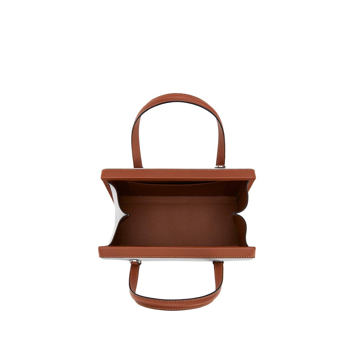 LOEWE Postal手袋 Kaolin/Tan front