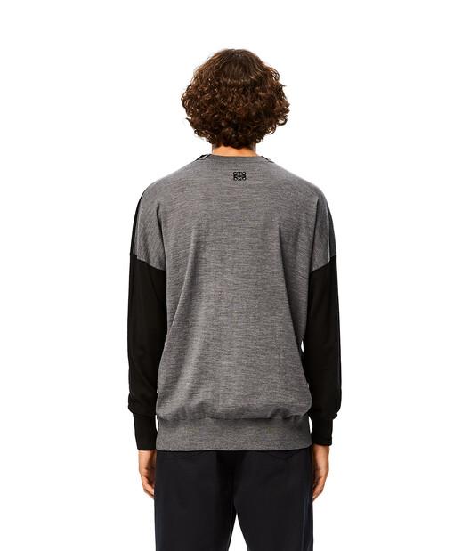 LOEWE Anagram Sweater Black/Grey front
