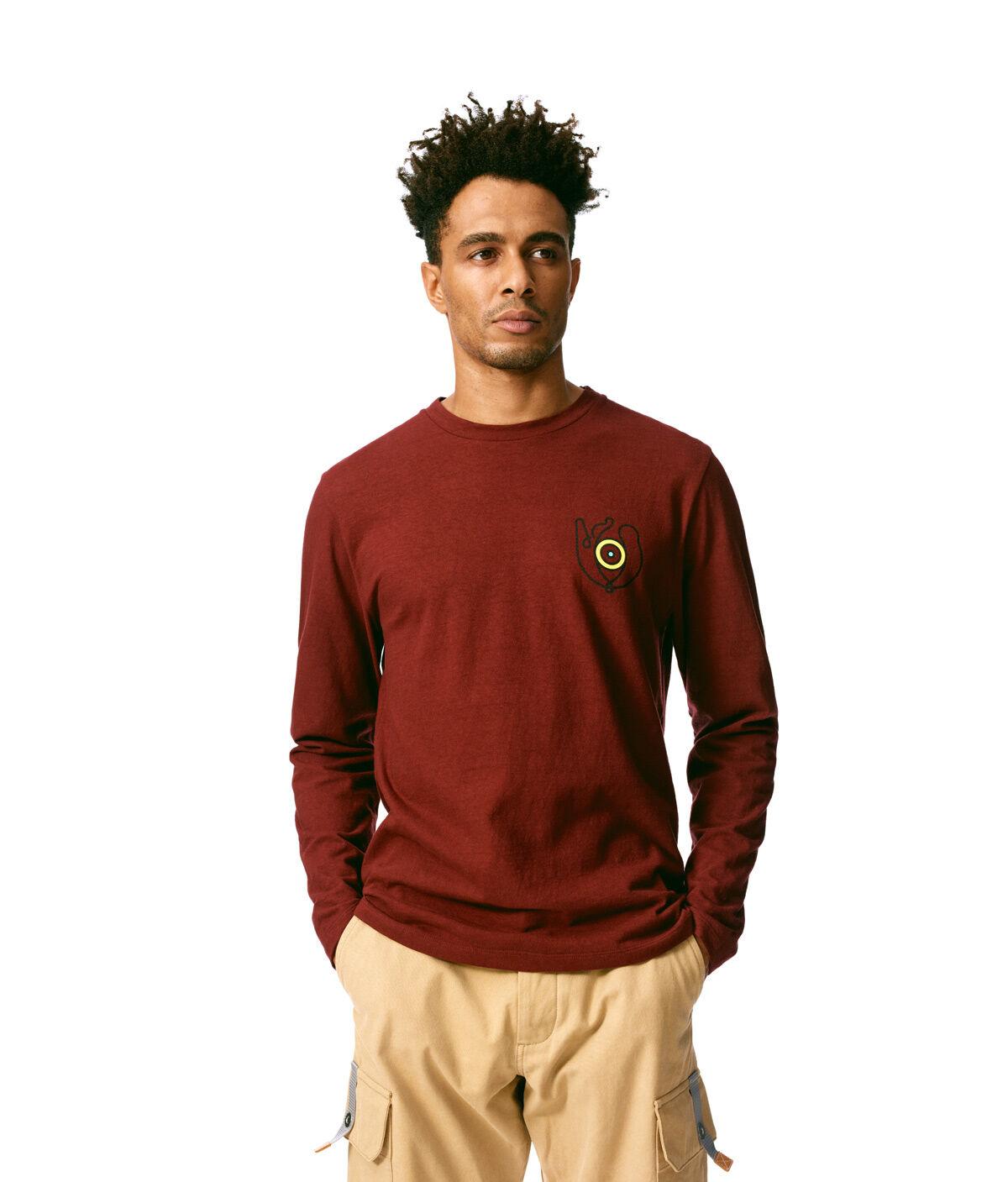 LOEWE Long Sleeve T-Shirt Loewe Eye Burgundy all
