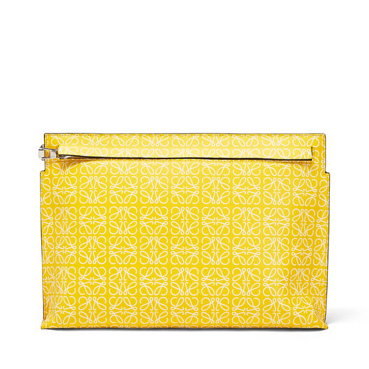 LOEWE T Pouch Repeat 黄色/白色 all