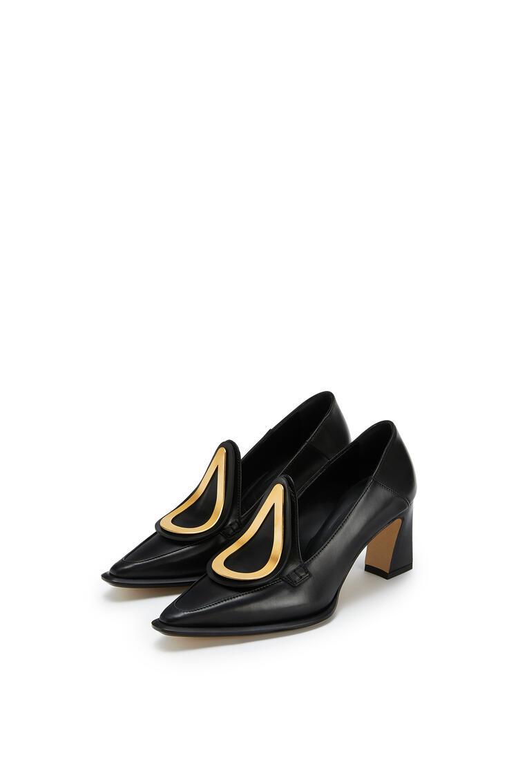 LOEWE Heel Loafer In Calfskin Black pdp_rd