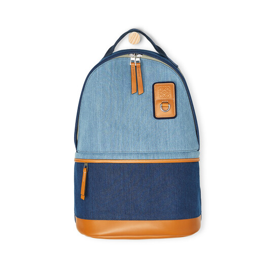 LOEWE Eye/Loewe/Nature Backpack Small Indigo front