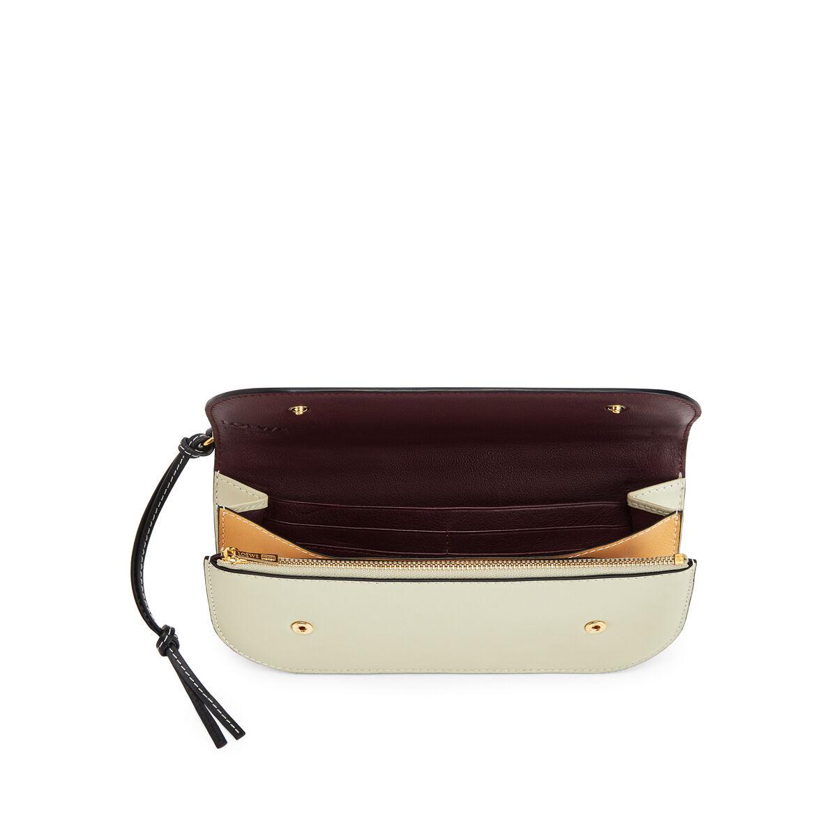 LOEWE Gate Pochette Gold/Light Olive front