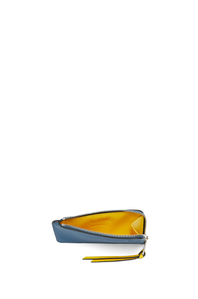 LOEWE Rainbow Coin Cardholder In Soft Calfskin Blue/Multicolor pdp_rd