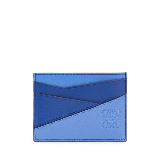 LOEWE Tarjetero Plano Puzzle Azul Pacifico/Azul Seaside all
