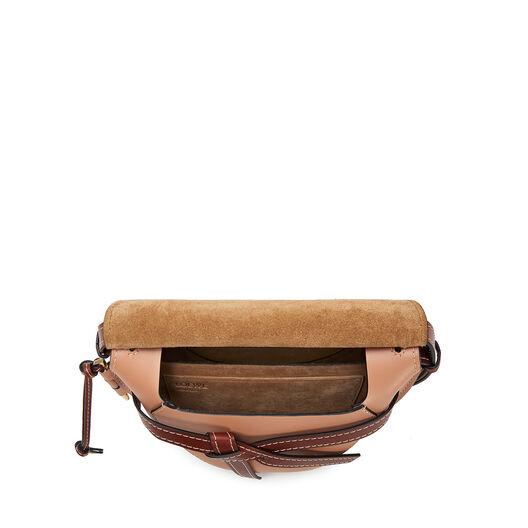 LOEWE Gate Small Bag Mocca/Powder all