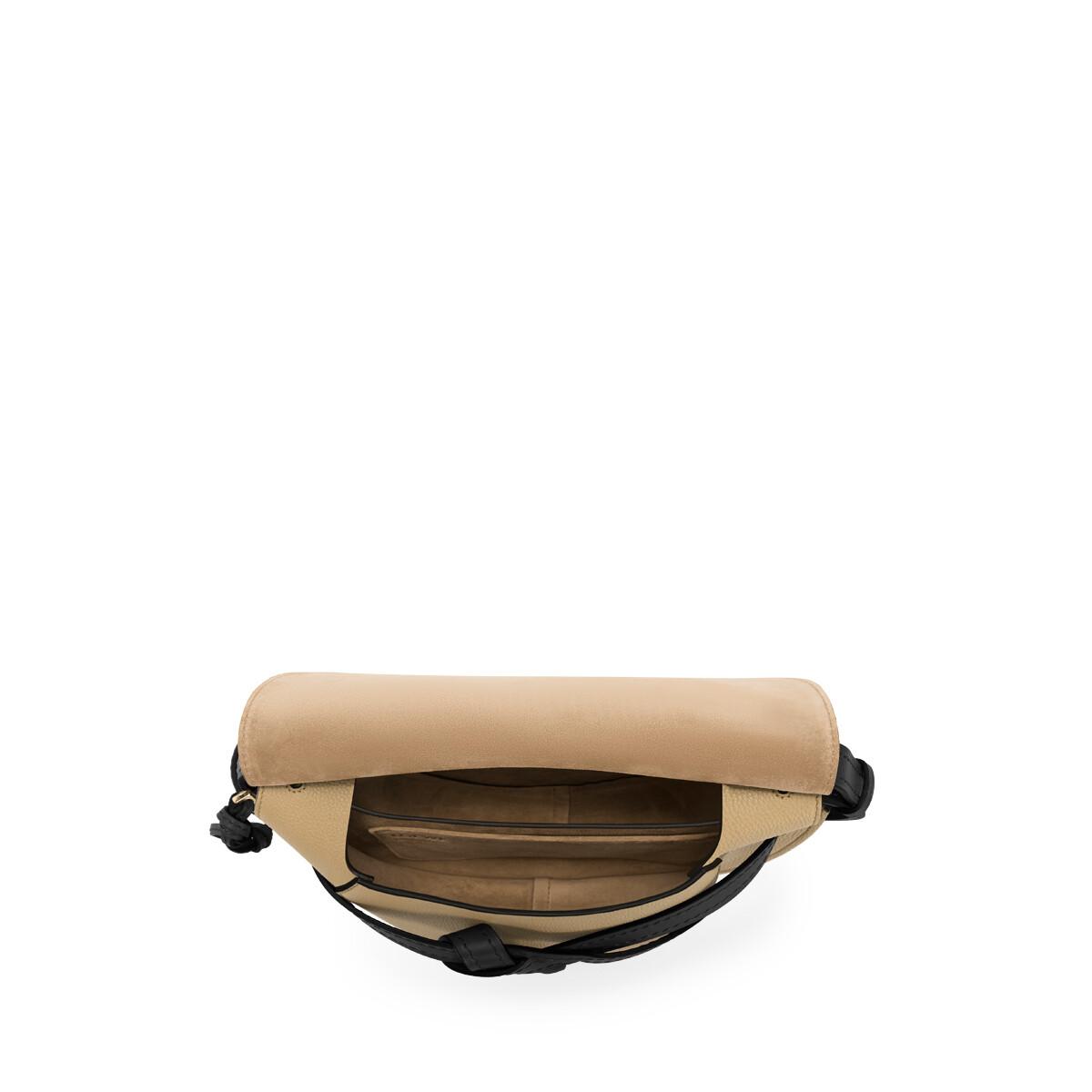 LOEWE Gate Small Bag Mocca/Black front