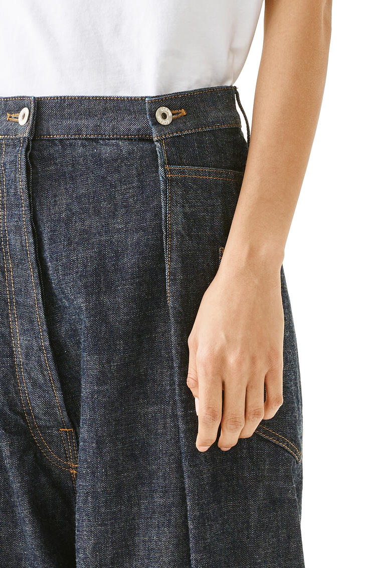 LOEWE Oversize jeans in cotton 丹寧藍 pdp_rd