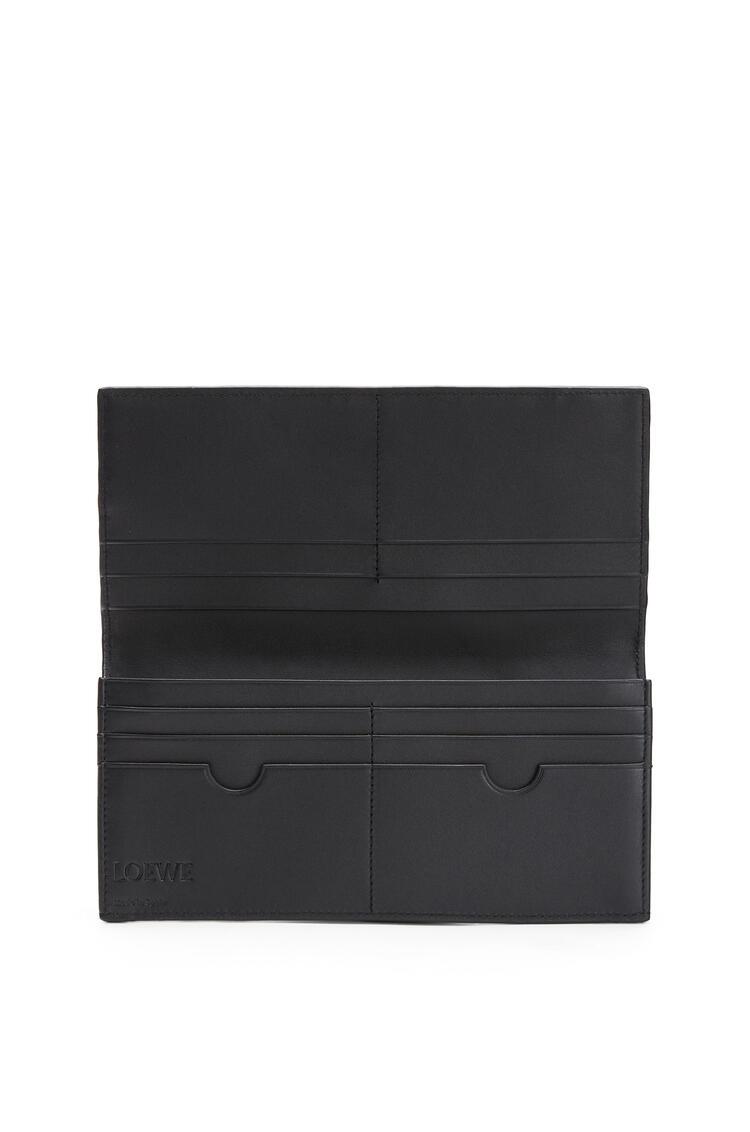 LOEWE Puzzle long horizontal wallet in calfskin Cognac pdp_rd