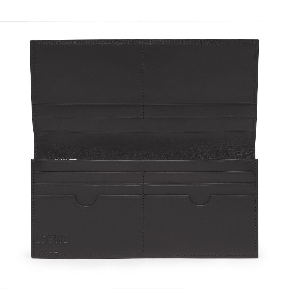 LOEWE Long Horizontal Wallet Mocca/Black all