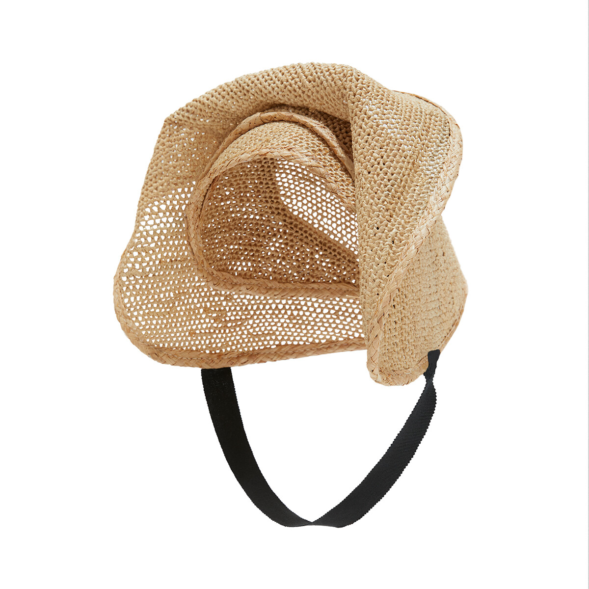 LOEWE Halo Hat Natural front