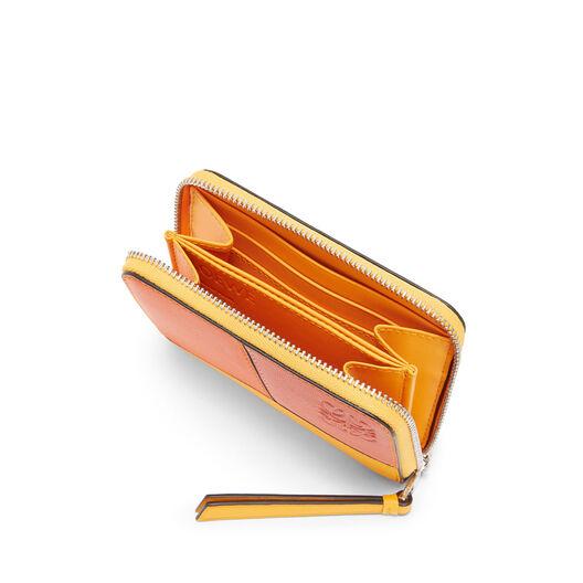 LOEWE Puzzle Zip 6 Card Holder Orange/Mandarin all