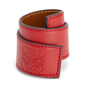 LOEWE Slap Bracelet Small Pomodoro front